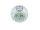 Teelicht m. Netz groß, grün