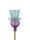 Gartenstecker violett/blau