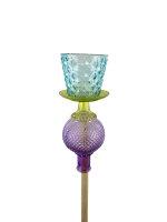 Gartenstecker blau/violett