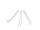 Strohhalm, klar, gebogen, 21cm, Ø8mm, 10 x 10er Set