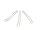 Smoothie-Trinkhalm, klar, abgewinkelt, 21cm, Ø10mm, 10 x 10er Set