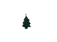 Mini-Metallanhänger Baum
