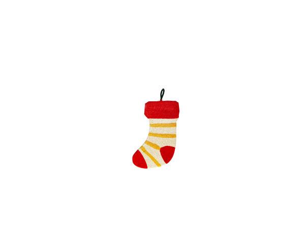 Mini-Metallanhänger Socke