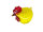 Huhn groß, gelb