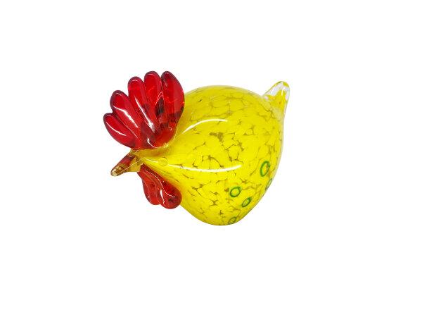 Huhn mittel, gelb