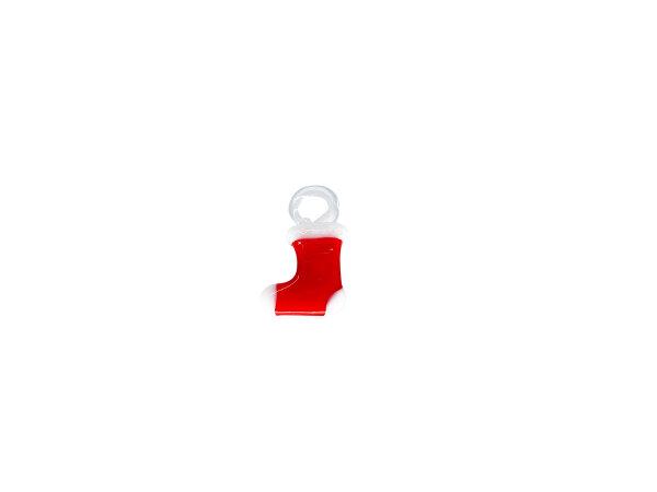 Mini-Stiefel rot/weiß