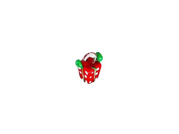 Mini-Geschenk, rot
