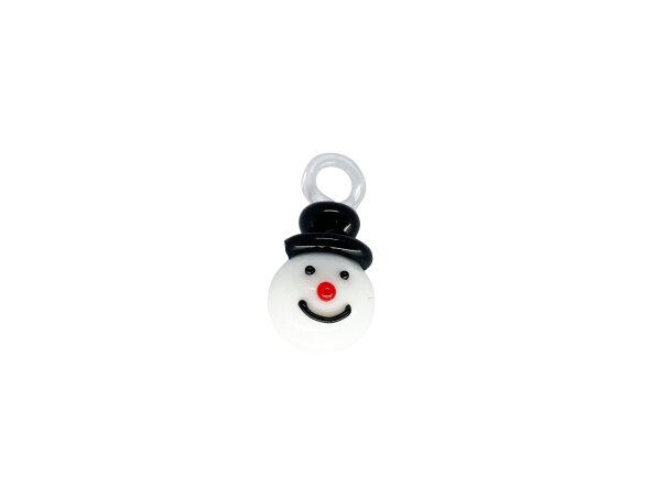 Mini-Schneemanngesicht