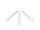 Smoothie-Trinkhalm, klar, gerade, 21cm, Ø10mm, 10 x 10er Set