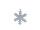 Schneeflocke mit Draht