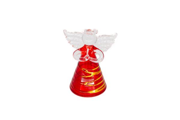 Engel rot/gold, klein