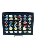 Ringbox 36 Stück,  inkl. 36 Boxen klein