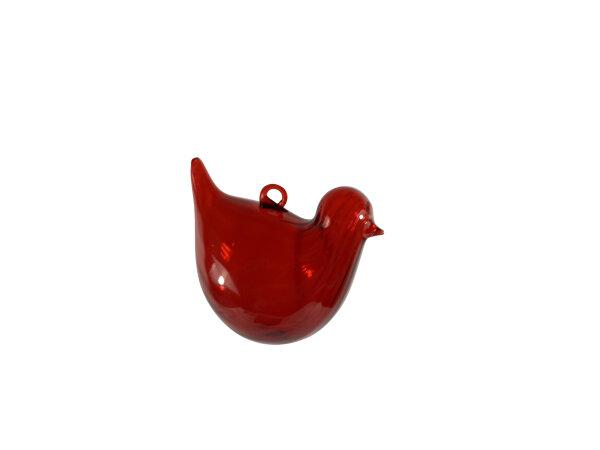Vogel optisch, rot