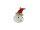 Nikolauskopf, rote Mütze