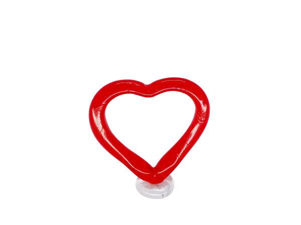 Herz offen, groß
