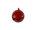 Kugel rot, 10cm