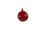 Kugel rot, 8cm