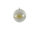 Kugel m. Netz Ø10cm, gold