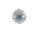 Kugel m. Netz Ø10cm, blau