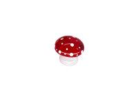 Pilz klein, rot
