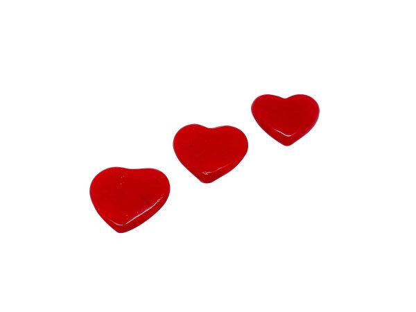 Herz groß flach