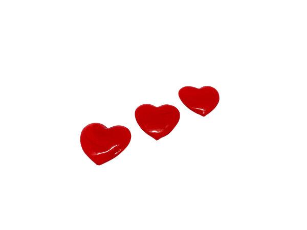 Herz mittel flach